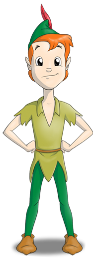 Liga da Literatura, personagem Peter Pan